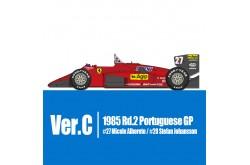1/12 Full Detail Ferrari 156/85 Ver A - K592