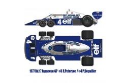 1/12 Full Detail Tyrrell P34 1977 Ver A - K599