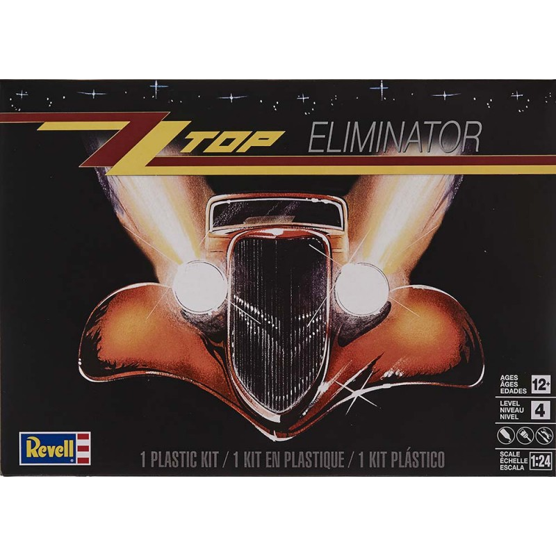Revell Top Eliminator Model Kit - 1/25 Scale