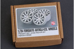 1/24 Forgiato Artigli-ECL Wheels - HD03-0392