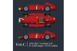 1/12 Full Detail Ferrari D50 Ver. C - K582