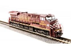 N Scale GE ES44AC Lehigh Valley Railroad Heritage Paint No.8104 - 3548