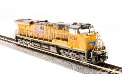 """N Scale GE ES44AC UP """"Building America"""" No.8096 - 3551"""