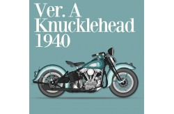 1/9 Full Detail Knucklehead 1940 Ver. A - K637