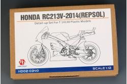 1/12 Honda RC213V-2014(Repsol) Detail-UP Set - HD02-0340