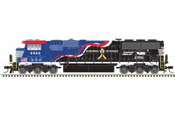 "N Scale SD60E Norfolk Southern ""Honoring Our Veterans "" No.6920 (Silver Series)"