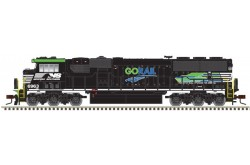 "N Scale SD60E Norfolk Southern ""GORAIL"" No.6963 (Silver Series)"