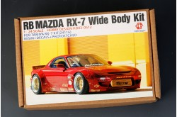1/24  RB Mazda RX-7  Wide Body Kit - HD03-0512