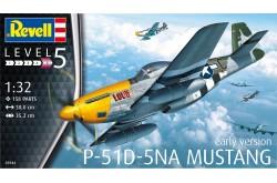 1/32 P-51D Mustang Plastic Model Kit - 80-3944