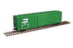 Atlas Master Line N Scale 50' FMC 5077 Single Door Box Car, Burlington Northern No.250052 - 50003419z