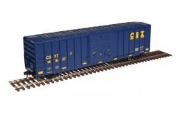 "Atlas Master Line N Scale 50' FMC 5077 Single Door Box Car, CSX ""Ease Up"" No.141660 - 50003427"