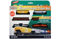 N Scale Mixed Freight Train Set (6 pcs) - 106-6275