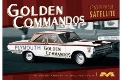 1/25 1965 Plymouth Satellite Golden Commandos - 1231