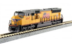 "N Scale EMD SD70M Union Pacific ""Flag"" No.4848 DC - 176-8610"