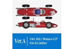 1/12 Full Detail Ferrari 156 'SHARK NOSE' Ver. A - K642