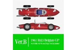 1/12 Full Detail Ferrari 156 'SHARK NOSE' Ver. B - K643