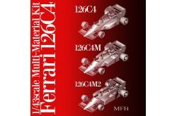 1/43  Full Detail Ferrari 126C4M2 - K444