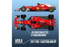 1/12 Proportion Kit Ferrari SF70H Ver. A - K607