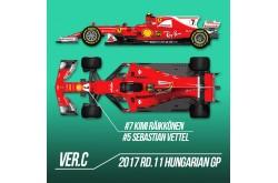 1/12 Proportion Kit Ferrari SF70H Ver. B - K623