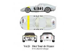 1/12 Full Detail Ferrari 250 GTO [1962] Ver. D - K565