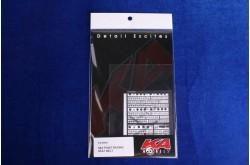 KA Models 1/20 6&4 Point Racing Seat Belt Photo Etched Set - KA-20001