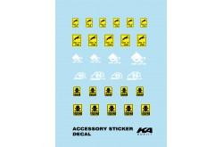 KA Models Accessory Sticker Decal - KD-24017