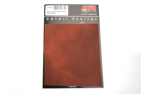 KA Models Real Leather (Very Thin) – RED BROWN -  KM-40002