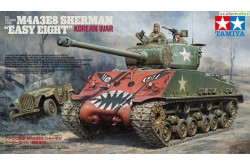 "1/35 US Medium Tank M4A3E8 Sherman - ""Easy Eight"" European Theater - 35346"