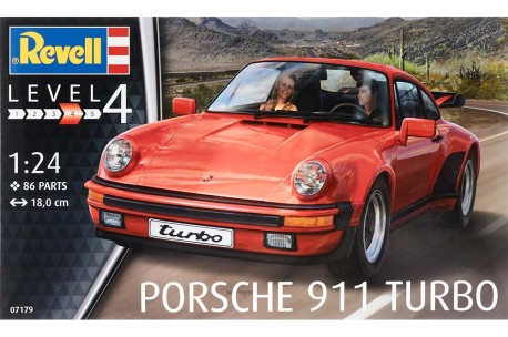 Revell of Germany Porsche 911 Turbo - 1/25