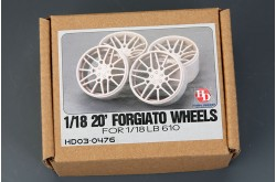 1/18 20' Forgiato Wheels For LB Huracan - HD03-0476