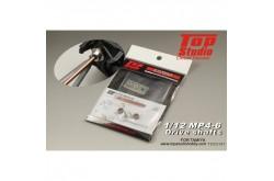 Top Studio 1/12 MP4/6 Drive Shafts - TD23157