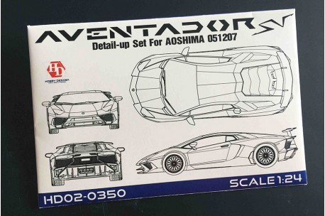 1/24 Lamborghini Aventador SV Detail Up Set