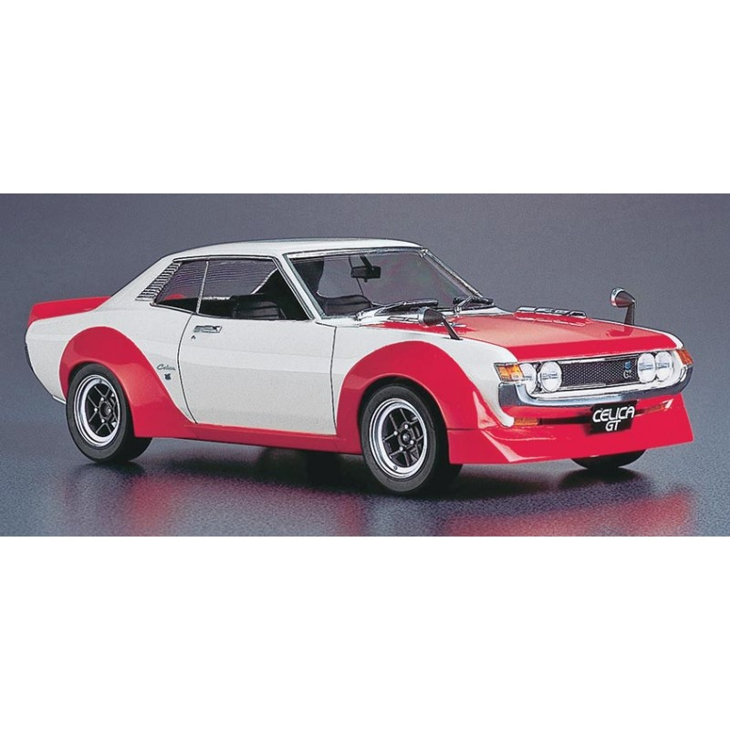 """Toyota Celica Coupe 1600 Gt: Hasegawa Toyota Celica 1600GT """"Race Configuration"""""""