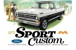 1/25 1972 Ford F-100 Sport Custom Pickup - 1220