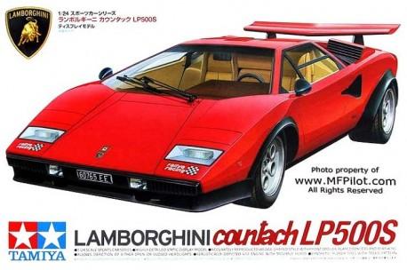 Tamiya Lamborghini Countach Lp500s 1 24 Scale Model Kit 24306 Up