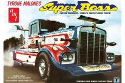 1/25 Tyrone Malone Kenworth Super Boss Drag Truck - AMT930
