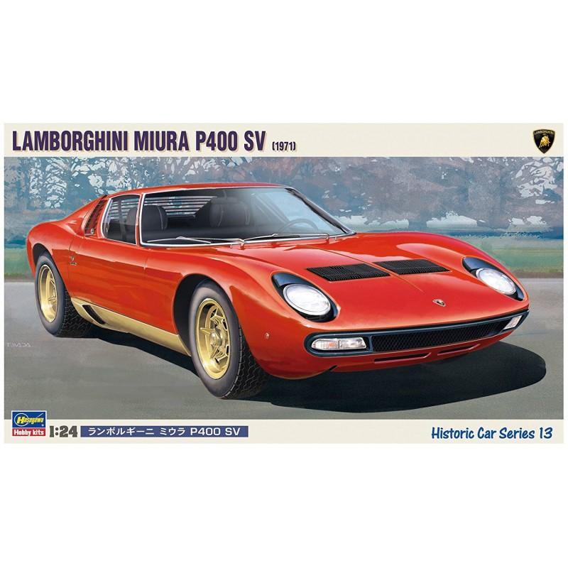 Hasegawa Lamborghini Miura P400 Sv 1 24 21213 Up Scale Hobbies