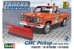 1/24 GMC Pickup w/ Snow Plow - 85-7222