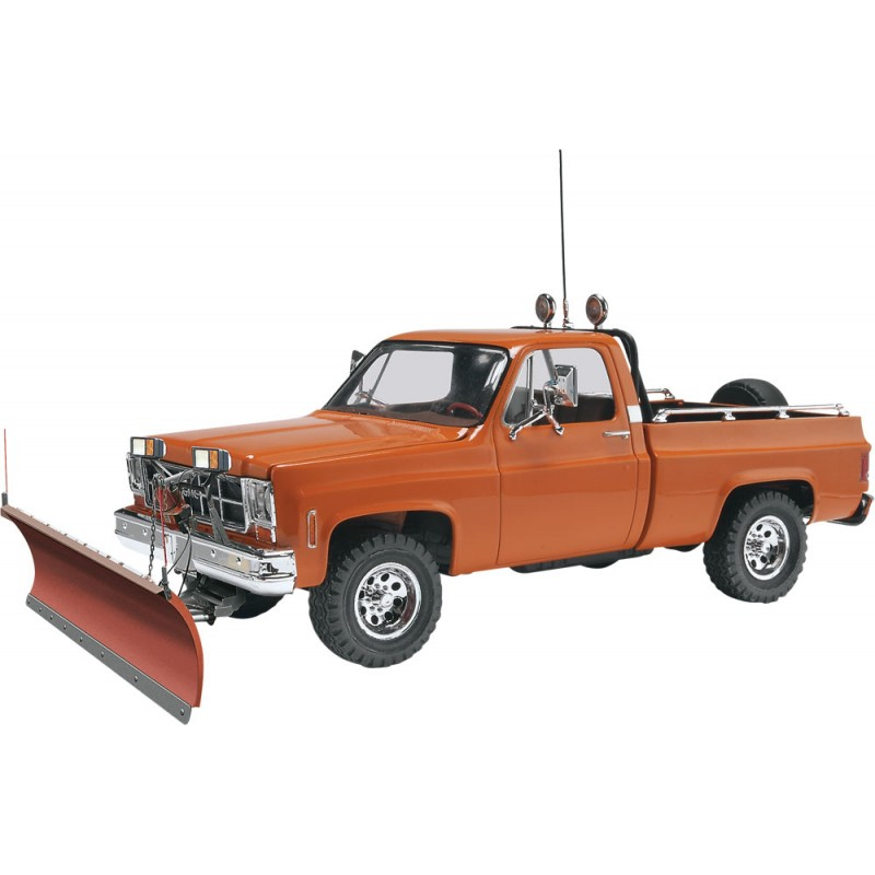 Rc Snow Plow Truck >> Revell 1/24 GMC Pickup w/ Snow Plow Model Kit | 85-7222 - Up Scale Hobbies
