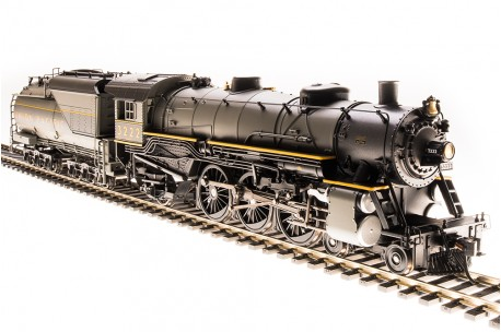 Broadway-Limited Light Pacific 4-6-2, UP No.3222 - HO Scale