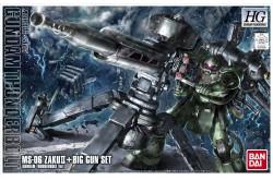 1/144 Gundam Thunderbolt MS-06 Zaku II & Big Gun - 207886