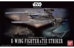 Star Wars 1/144 U-Wing Fighter and Tie Striker - 212195