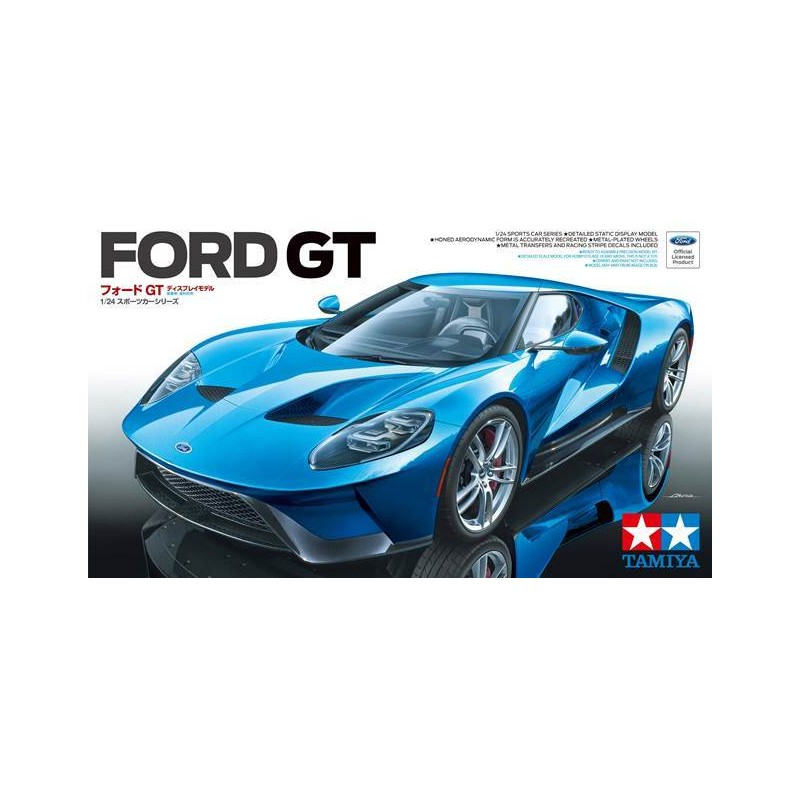 Tamiya Ford Gt Model Kit   Tamiya
