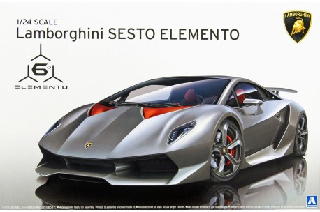 Aoshima Lamborghini Sesto Elemento 1 24 10730 Up Scale Hobbies