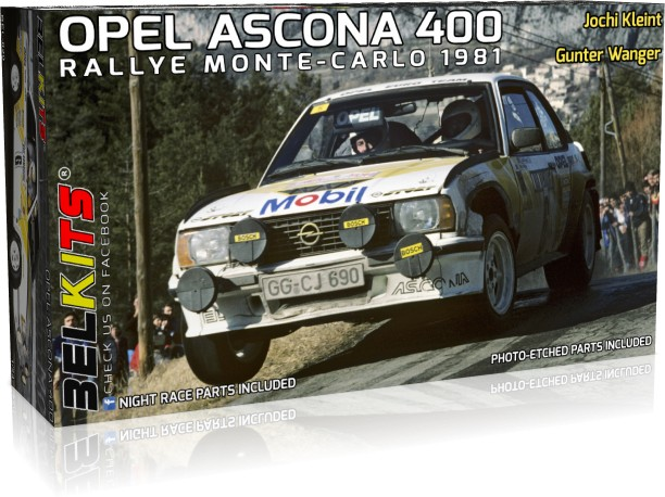 Decals 1//24 ref 1584 opel ascona 400 frequelin rally monte carlo 1983 rally